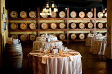 The San Diego Wine & Culinary Center offers a unique wedding venue with the elements of both an urban setting and a Tuscan winery, and even includes views of the bay.