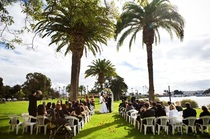 With beautiful waterfront views and an elegant reception area, The Bayview at Point Loma is one of the best military wedding venues San Diego has to offer.