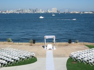 With spectacular views of the San Diego Bay, our Admiral Kidd location is a great choice for couples looking for military wedding venues.