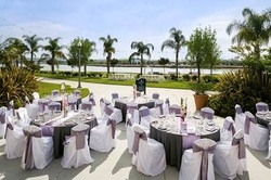 The Marriott Courtyard in Mission Valley offers great food, ambiance and location for your wedding reception.